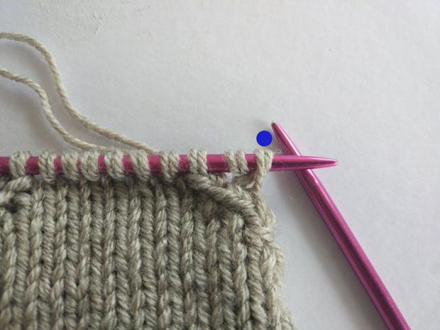 Ponožky pletené na dvoch ihliciach 4