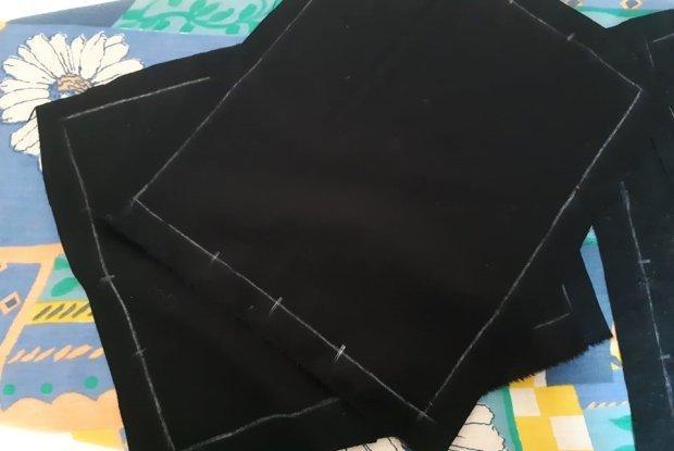 Ako vyrobiť štýlové rúško aj bez šijacieho stroja 3