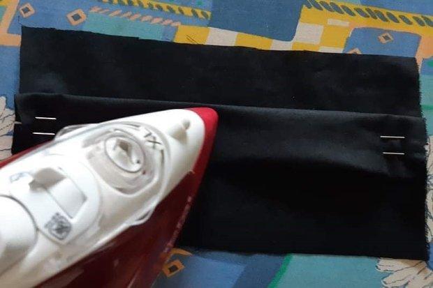 Ako vyrobiť štýlové rúško aj bez šijacieho stroja 10