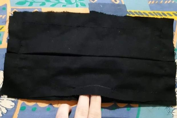 Ako vyrobiť štýlové rúško aj bez šijacieho stroja 17