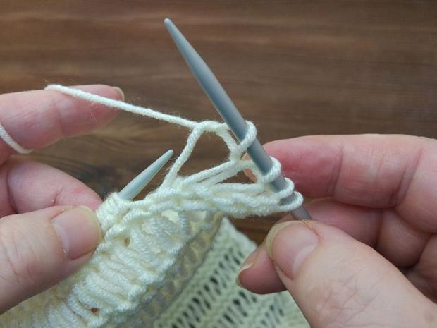 Ako upliesť jednoduchý šál 5