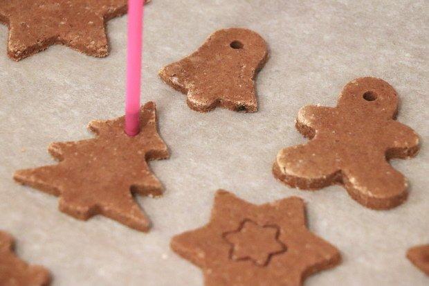 Postup na vianočné ozdoby zo škoricovo - slaného cesta bez pečenia 8