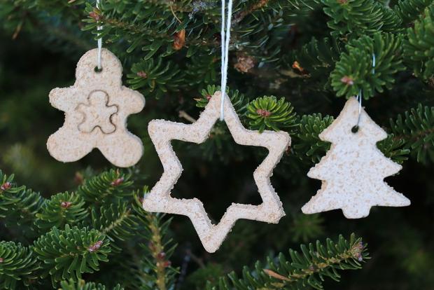 vianocne dekoracie zo slaneho cesta