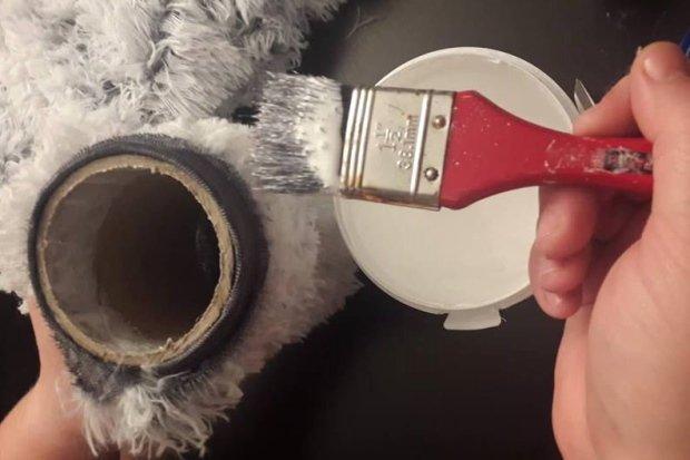 Fotopostup na vianočného škriatka z papletu 14