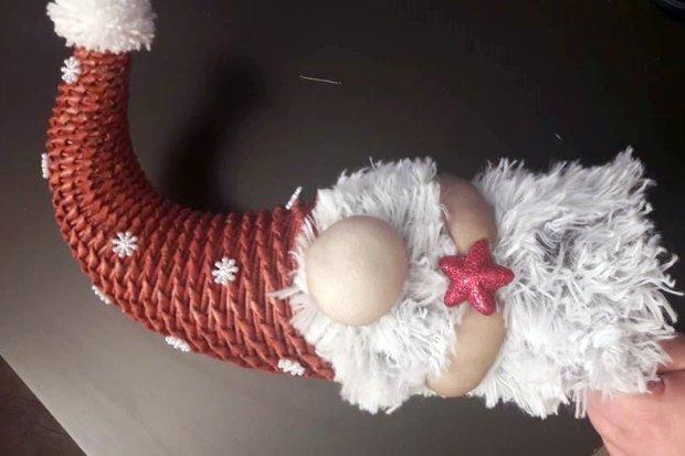 Fotopostup na vianočného škriatka z papletu 21