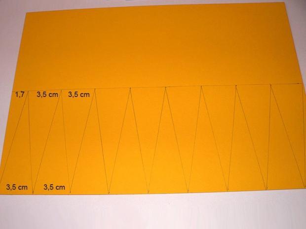 Slnko z papierového taniera 2