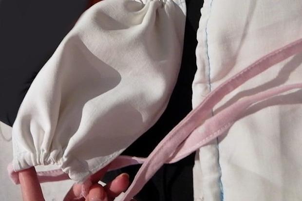 Ako ušiť šnúrky na rúška 1