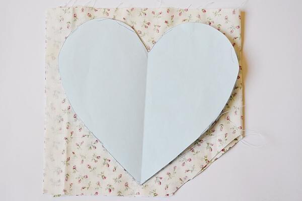 Srdce plnené levandulou 4