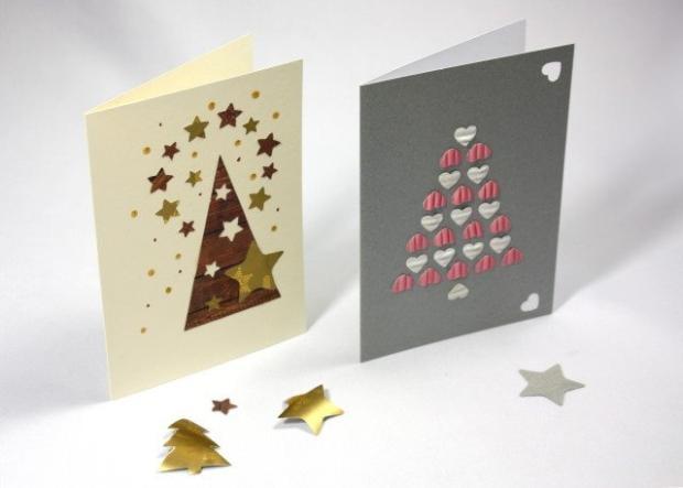 Fotopostupy na jednoduché jednoduché vianočné pozdravy