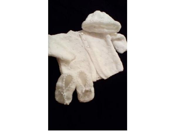Pletená súprava pre kojenca