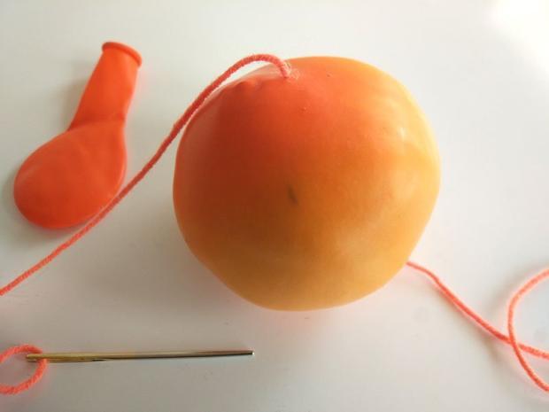 Tekvica z balóna 5