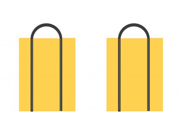 Návod na jednoduchú nákupnú tašku zo starých riflí 1
