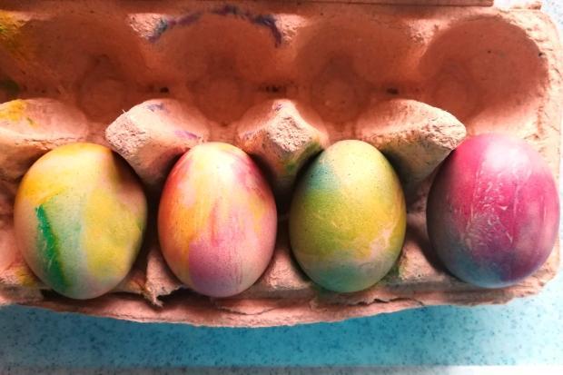 Mramorované veľkonočné vajíčka - fotopostup 7