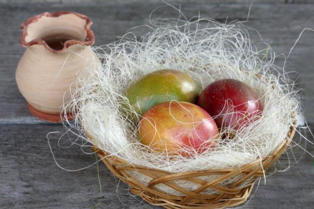 Mramorované veľkonočné vajíčka - fotopostup