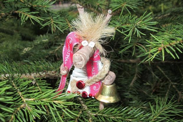 Fotopostup na vianočného maskota z papletu 1