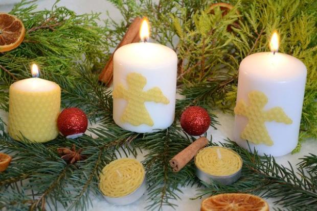 Sviečky a ozdoby zo včelieho vosku | Dasa_