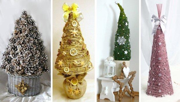 Vianočné stromčeky inšpirácie