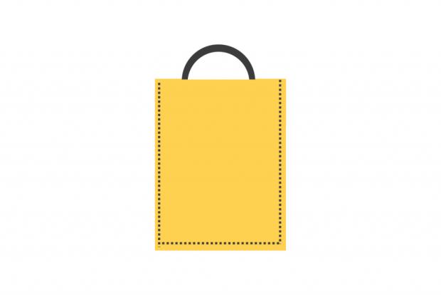 Návod na jednoduchú nákupnú tašku zo starých riflí 2