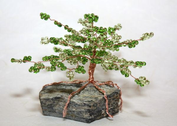 Autor: Kamila, Fotopostup na stromček z korálok