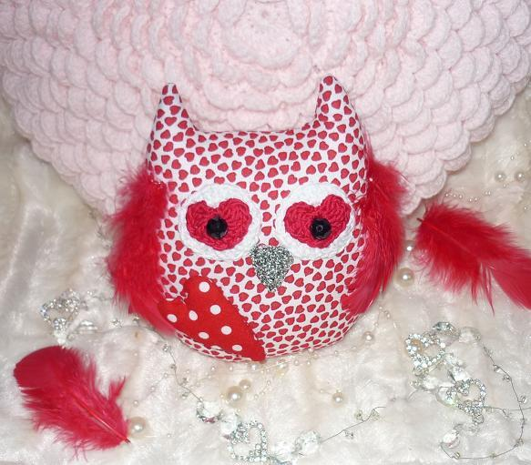 Sovička Valentínka ♥, Valentínske dekorácie
