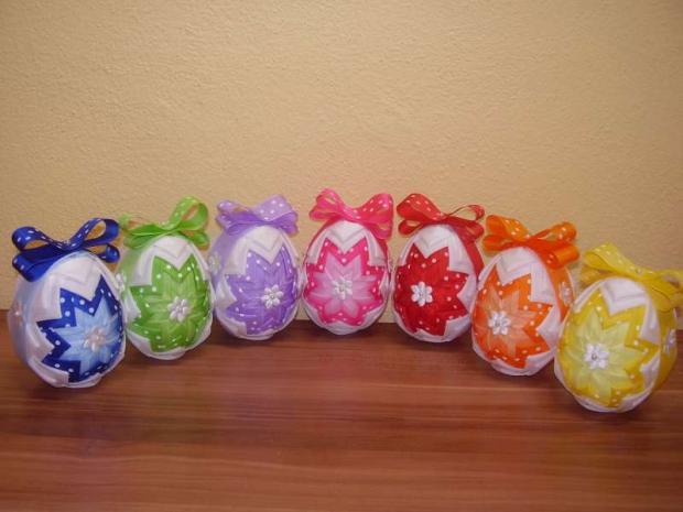 Vajíčková dúha, Falošný patchwork
