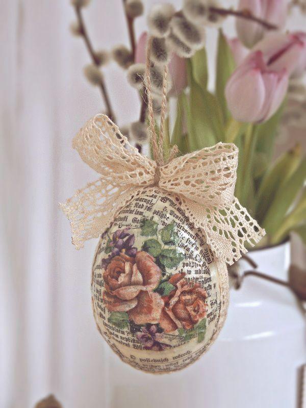 Na poslednú chvíľu :), Veľkonočné dekorácie