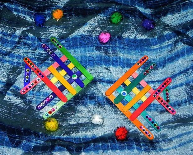 Rybičky z drevených paličiek, Tvoríme s deťmi a pre deti