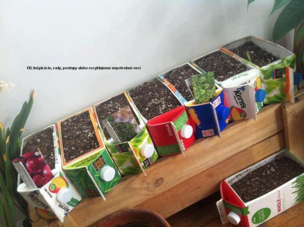 Kvetináče z krabíc od mlieka, Tvoríme s deťmi a pre deti