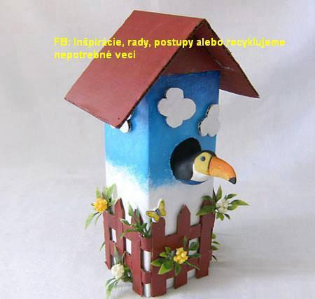 Krmidlo pre vtáčiky, Tvoríme s deťmi a pre deti