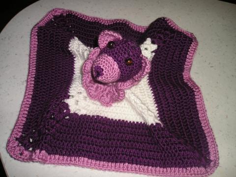 Háčkovaný mojkáčik medvedík