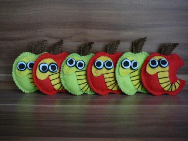 Jabĺčka z filcu, Tvoríme s deťmi a pre deti