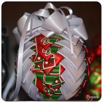 Naša vianočná ozdoba , Falošný patchwork