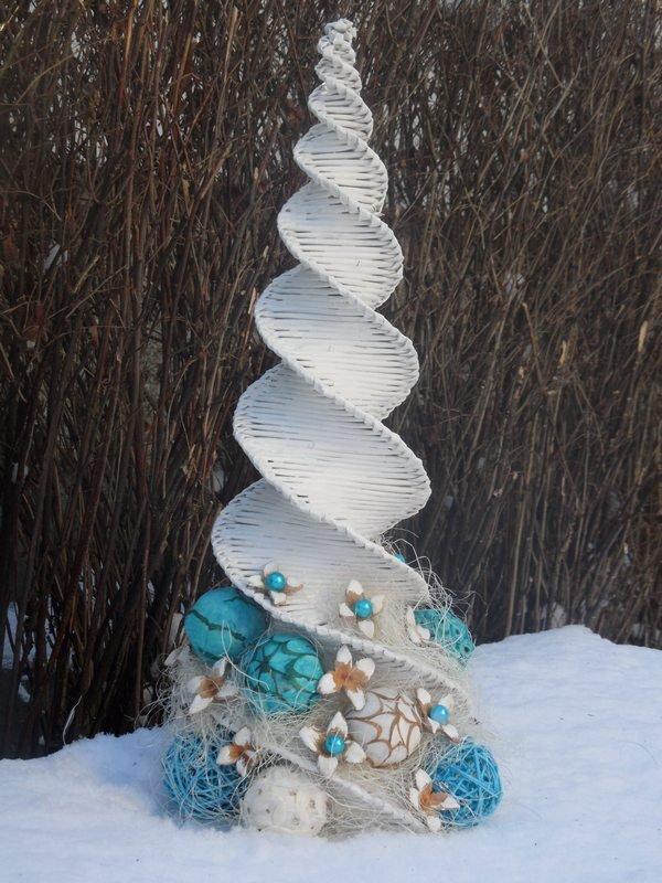 08a0755cf vianočný stromček v mojom prevedení:-), Papierové pletenie | Artmama.sk