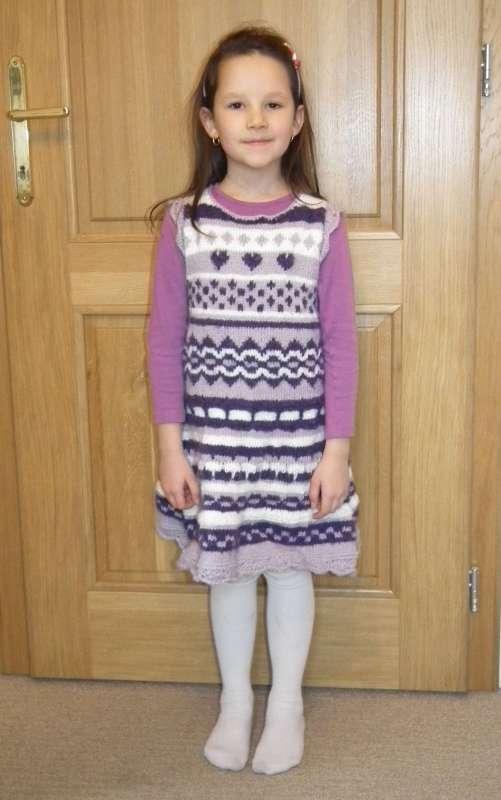 3339009fe36f štrikované šaty pre dcérku