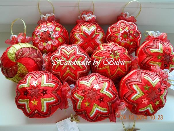 Vianočná kolekcia v klasických farbičkách  :), Falošný patchwork