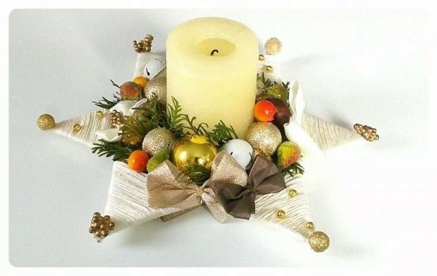 moje handmade doplnky :) , Vianočné dekorácie