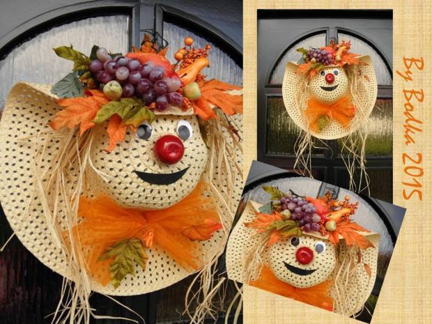 jesenná dekorácia, Aranžovanie