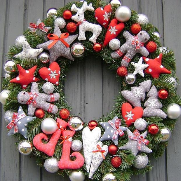 55da1bfbf vianočné vence , Vianočné dekorácie   Artmama.sk