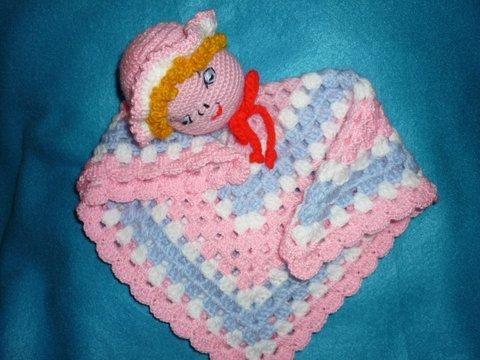 Háčkovaný mojkáč bábika