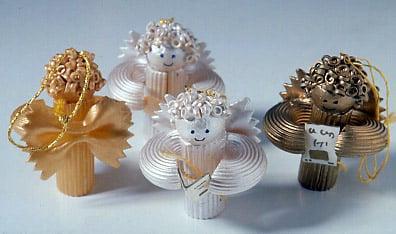 Vianočné ozdoby z cestovín,  Autor: miffy