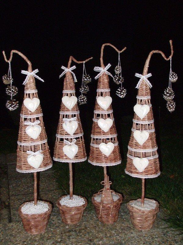 ac548fe7a2ab Vianočné pletenie z pedigu a papiera Artmama.sk
