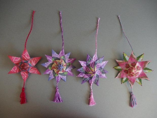 Hviezdy z čajových sáčkov,  Autor: apple