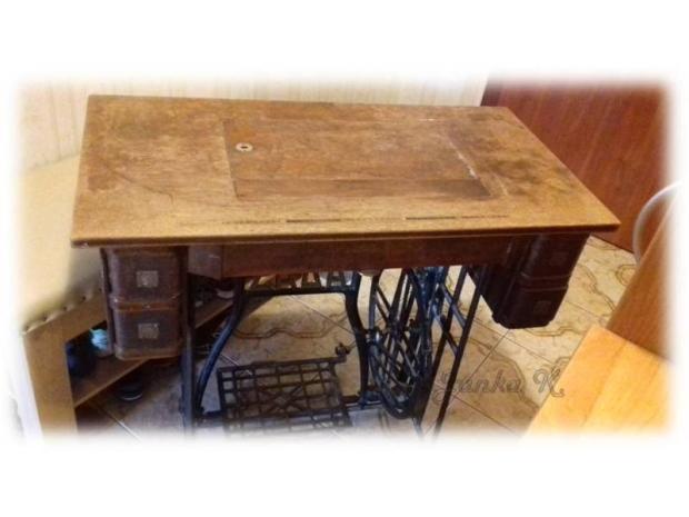 Renovácia šijacieho stroja, Zo starej truhlice