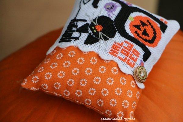 Vyšívaný halloween, Autor: nicolete