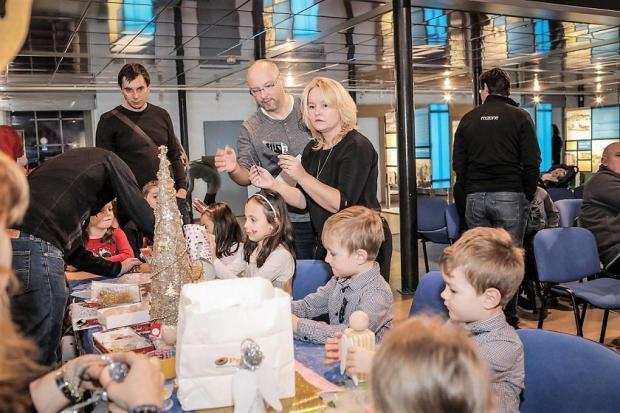 Mikulášska oslava 2017 vo Vodárenskom múzeu BA, Tvoríme s deťmi a pre deti 3