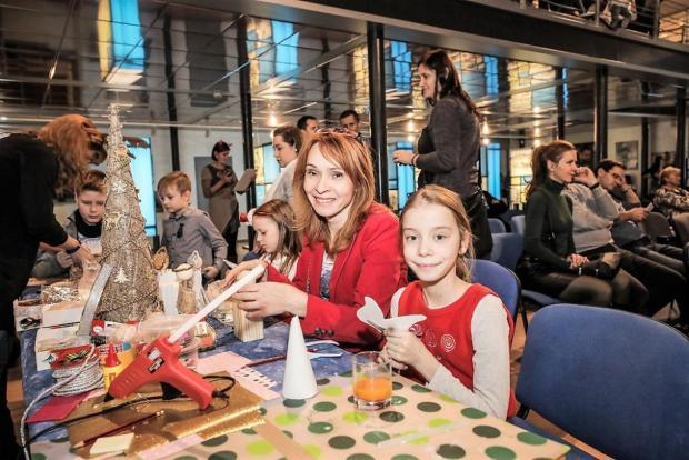 Mikulášska oslava 2017 vo Vodárenskom múzeu BA, Tvoríme s deťmi a pre deti 7