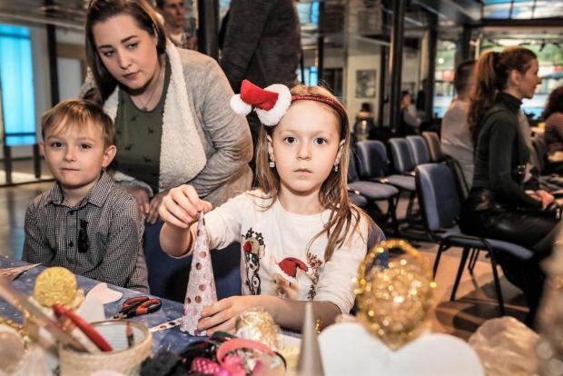 Mikulášska oslava 2017 vo Vodárenskom múzeu BA, Tvoríme s deťmi a pre deti 8
