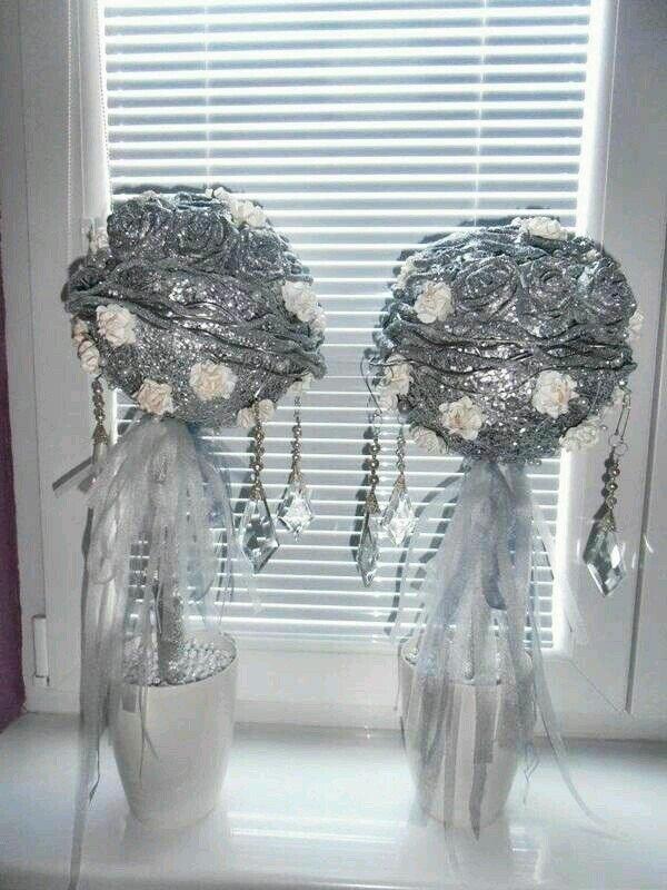 Dekorácia na svadbu , Aranžovanie