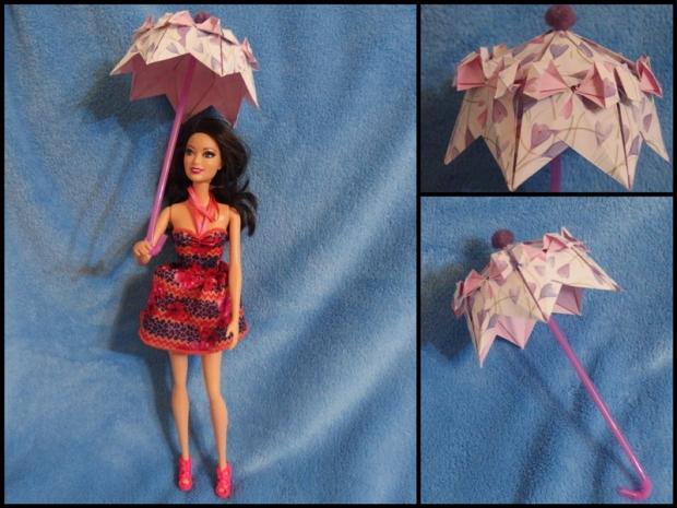 dáždnik pre Barbie , Origami a Kusudama