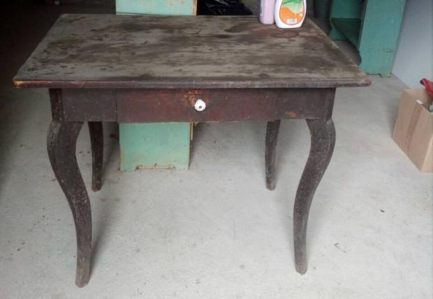 Starý stôl zo šopy , Recy - veci